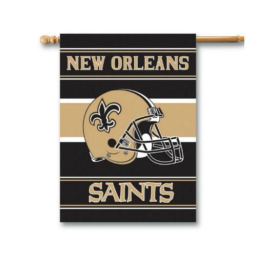 Fremont Die Inc New Orleans Saints 2-Sided House Banner House Banner