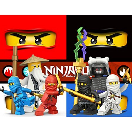 1/4 Sheet Ninjago Edible Frosting Cake Topper- 79117* for $<!---->