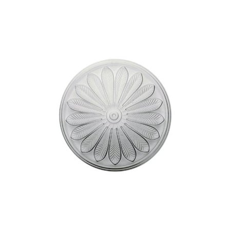 """25 1/2""""OD x 5 1/2""""P Brontes Ceiling Medallion (Fits Canopies up to 3 5/8"""")"""