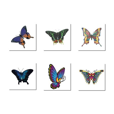Butterfly Temporary Tattoo Pack