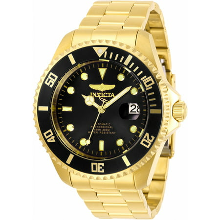 Invicta Automatic Watches - Invicta Men's Pro Diver 28948 Automatic 3 Hand Black Dial Watch