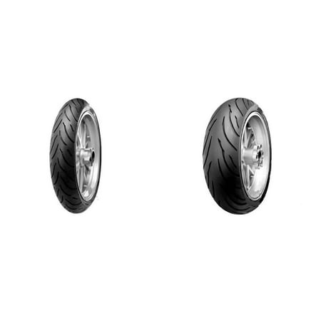 CONTINENTAL Motion Sport Touring Front & Rear Tire Set, 120/70ZR17 (58W) & 180/55ZR17 (73W)