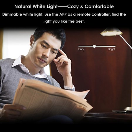 Smart LED Light Bulb RGB Multicolor LED Bulb 7W E27 Light Wireless BT Dimmable Light Phone Remote Control Lamp Bulb - image 4 of 7