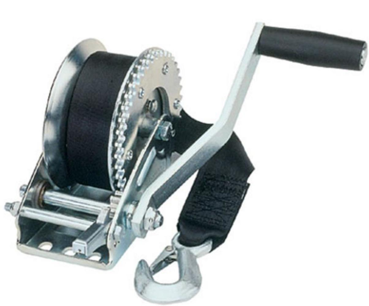 Fulton T1100 0101 Single Speed Trailer Winch 1100lbs by Fulton