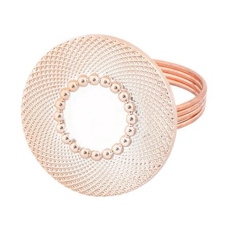 Hoop Round Ring (Festival Desk Metal Round Shaped Dinner Napkin Serviette Holder Ring Loop Hoop)