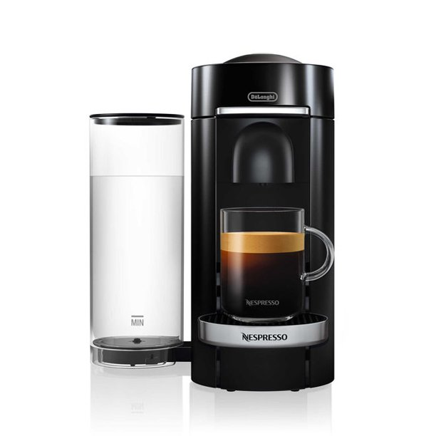 Nespresso Vertuo Plus Deluxe Coffee and Espresso Maker by De'Longhi - Walmart.com - Walmart.com