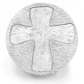 Rugged Cross Drink Coasters