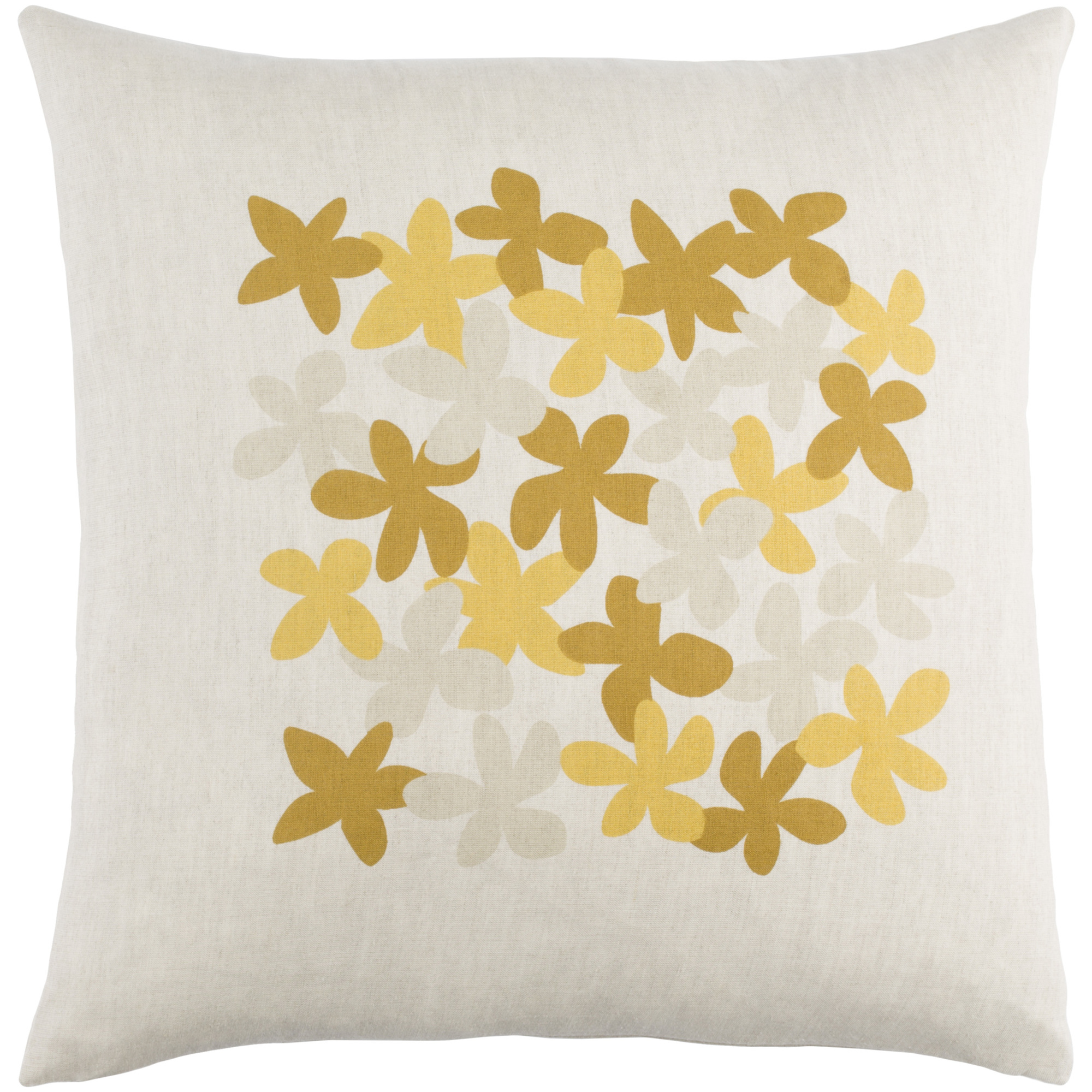 """Art of Knot Courland 18"""" x 18"""" Pillow (with Poly Fill)"""