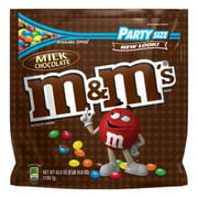 M&M's, Milk Chocolate Candy, Party Size, 42 Ounce