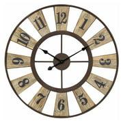 Cooper Classics Minden 28 in. Wall Clock