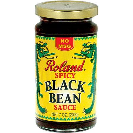(3 Pack) Roland Spicy Black Bean Sauce, 7 Oz