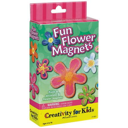 Creativity for Kids Fun Flower Magnets Kit](Flower Magnets)