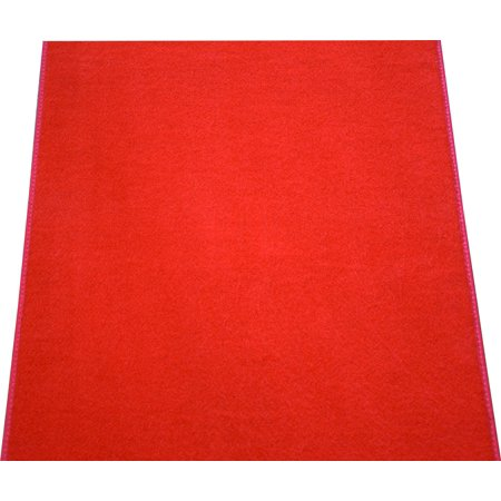 Dean Red Carpet Runner - Indoor/Outdoor Wedding Aisle Boat Event Party Rug 3' x 6'