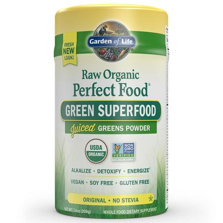 Garden of Life Raw Organic Perfect Food Original 7.4oz (209g) Powder