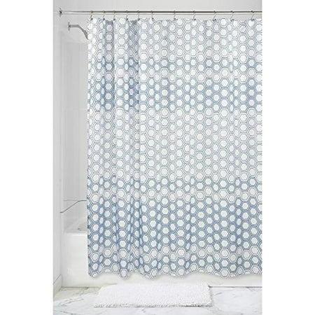 2d5c7b265774 Vinyl Boutique Shop Gradient Hexagon Fabric Shower Curtain - 72
