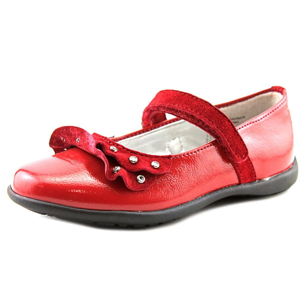 Balleto by Jumping Jacks Veronica Toddler US 8.5 N Red Flats EU 26