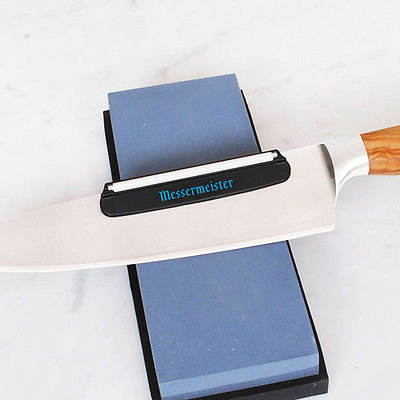 Messermeister Knife Sharpening Angle Guide for Whetstone Stone
