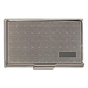 Simran BC-18-G Ajmer Gold Finished Business Card Case