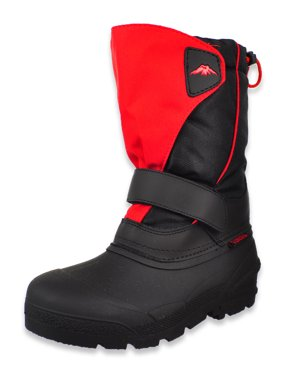Tundra Boys' Quebec Winter Boots (Sizes 1 - 6)