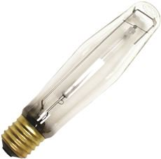 SYLVANIA LUMALUX PLUS ECOLOGIC HIGH PRESSURE SODIUM LAMP, ET18, 400 WATT, 100 VOLTS, E39 MOGUL, CLEA