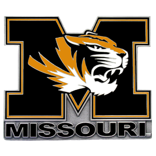 Missouri Tigers Official NCAA Hitch Cover by Siskiyou 074677