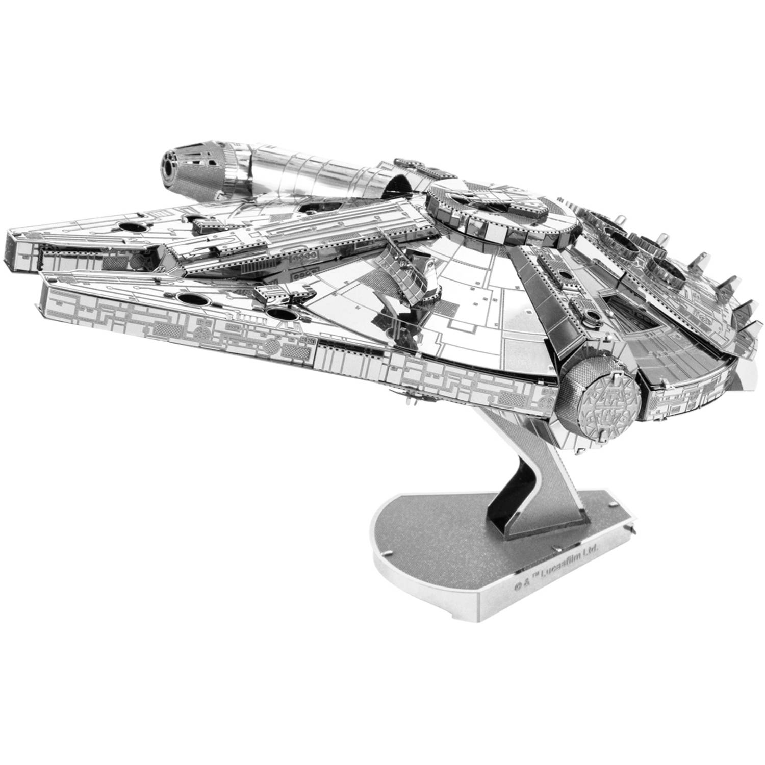ICONX 3D Metal Model Kit, Large Millennium Falcon by Fascinations