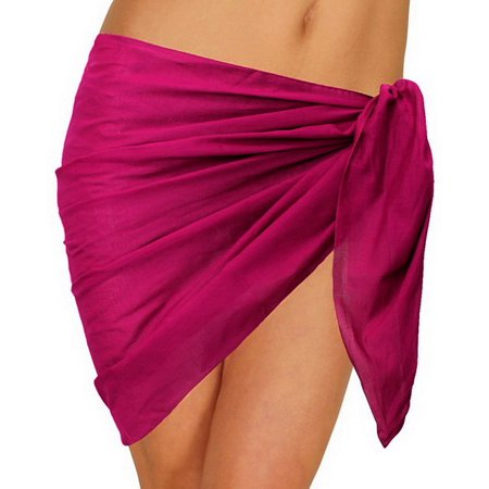 ca9c6f6d7b Mini Sarong Cover ups See Through Cotton Skirt Swimsuit Swimwear Beachwear  Scarf