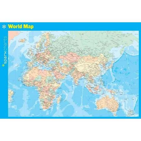 Sparkcharts World Map