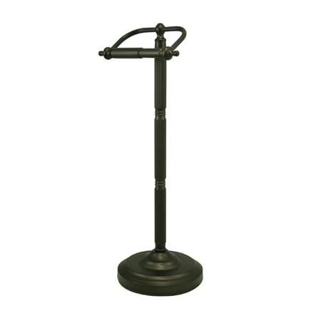 Brass Pewter Toilet Paper Holder (Kingston Brass Georgian Free Standing Pedestal Toilet Paper Holder)