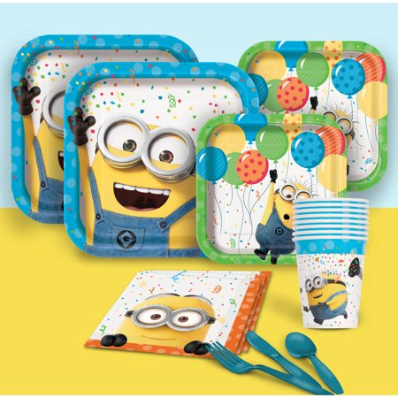 Despicable Me Party Pack for 8 - Party City Nearest Me