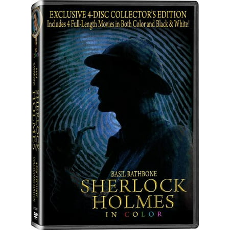 Film Om Halloween (Sherlock Holmes in Color (4 Disc Collector's Edition))