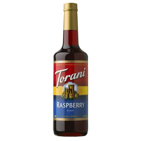 Raspberry Flavored Syrup - Torani Raspberry Syrup 750ml