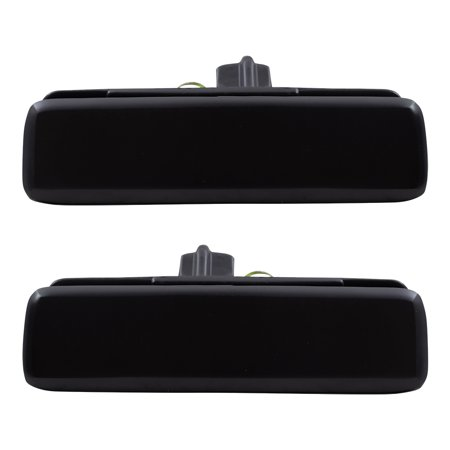 BROCK Outside Outer Door Handles Front Driver and Passenger Replacements for Chevrolet Astro GMC Safari Van 15719665 15719666