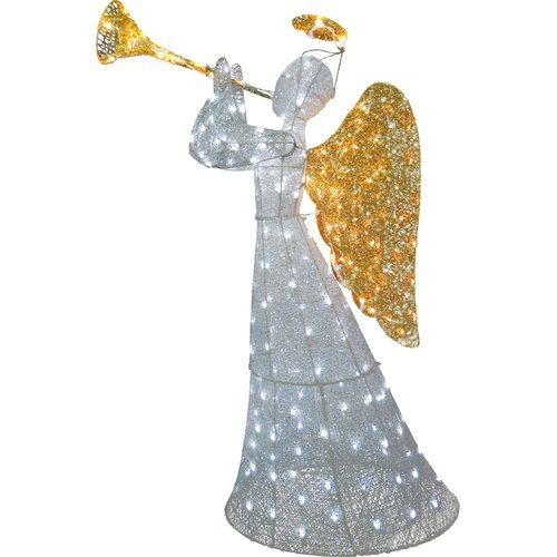 The Holiday Aisle Crystal Angel Christmas Decoration
