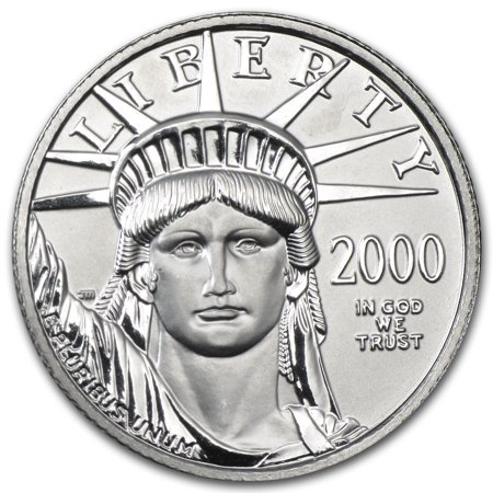 2000 1 4 Oz Platinum American Eagle Bu