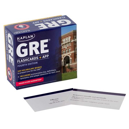 GRE Vocabulary Flashcards + App