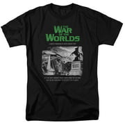 War Of The Worlds 1953 Sci-Fi Thriller Movie Space Ship Attack Adult T-Shirt