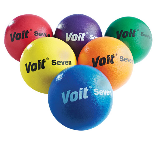 Voit Tuff Balls - Soft-Low Bounce, Colored - 7''