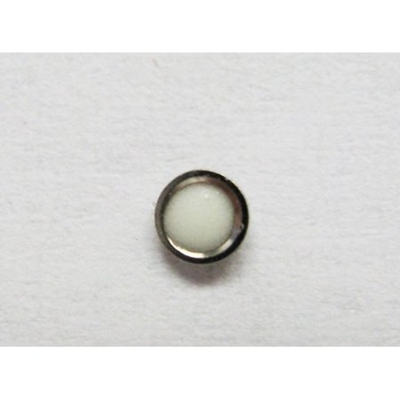 PEARL FOR  BEZEL INSERT FOR ROLEX TUDOR 75090,75190 SILVER SMALLER DIAMETER