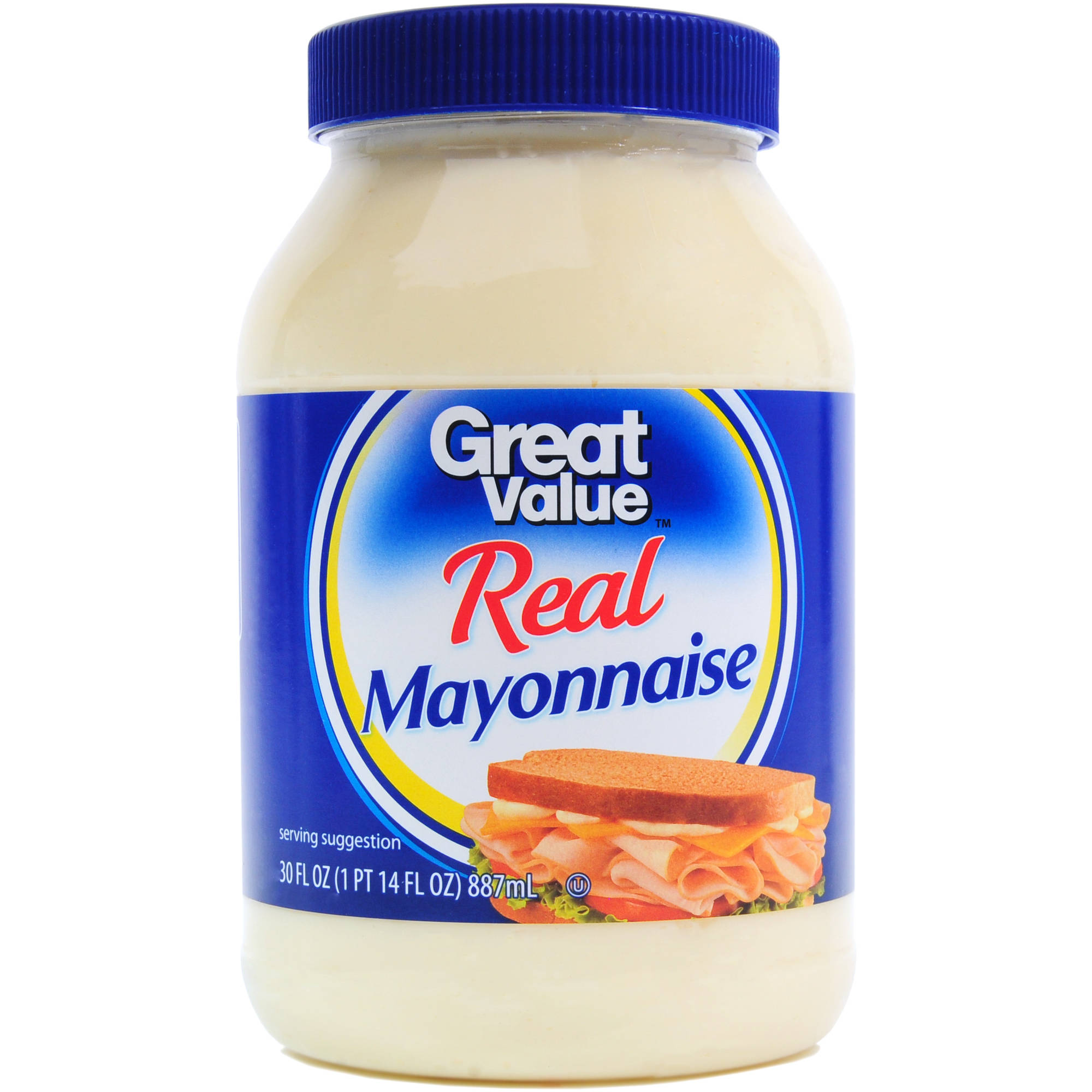 Great Value Real Mayonnaise, 30 fl oz