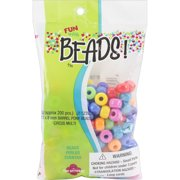 Pony Beads 11mmX8mm 200/Pkg-Circus Multicolor