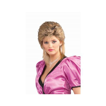 80'S SALON WIG-MIXED BLONDE - 80s Wig