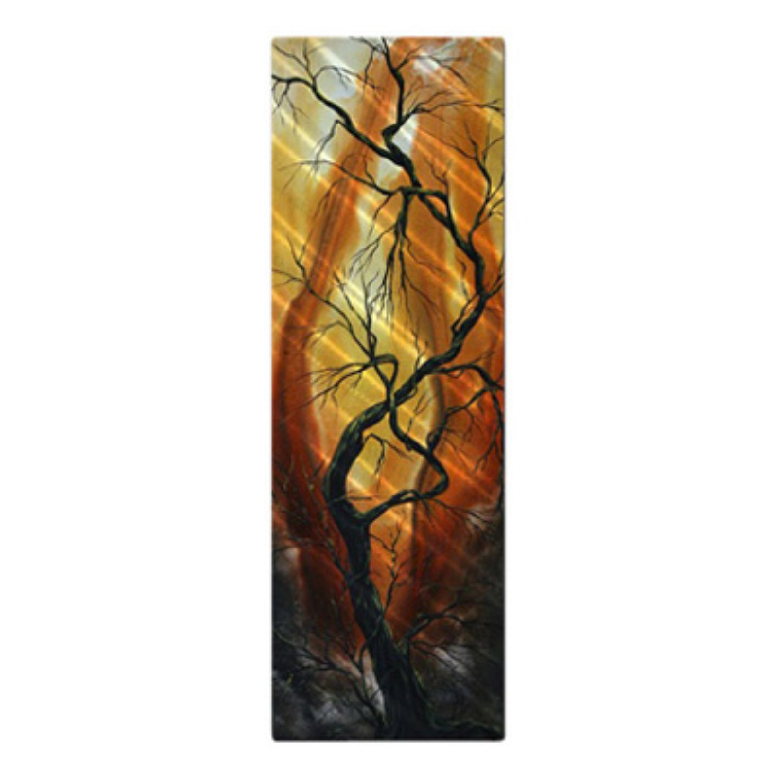 Striving to be the Best Metal Wall Art - 8W x 23.5H in.