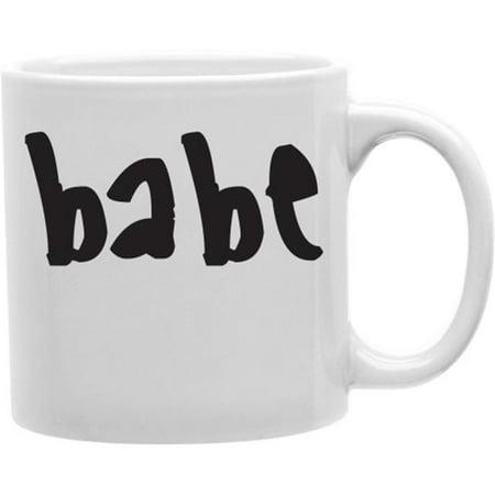 Babe Mug (Imaginarium Goods CMG11-IGC-BABE Babe 11 oz Ceramic Coffee Mug )