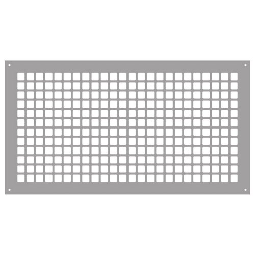 "Reggio Registers G1426-SH Grid Series 24"" x 12"" Grille with Mounting Holes"