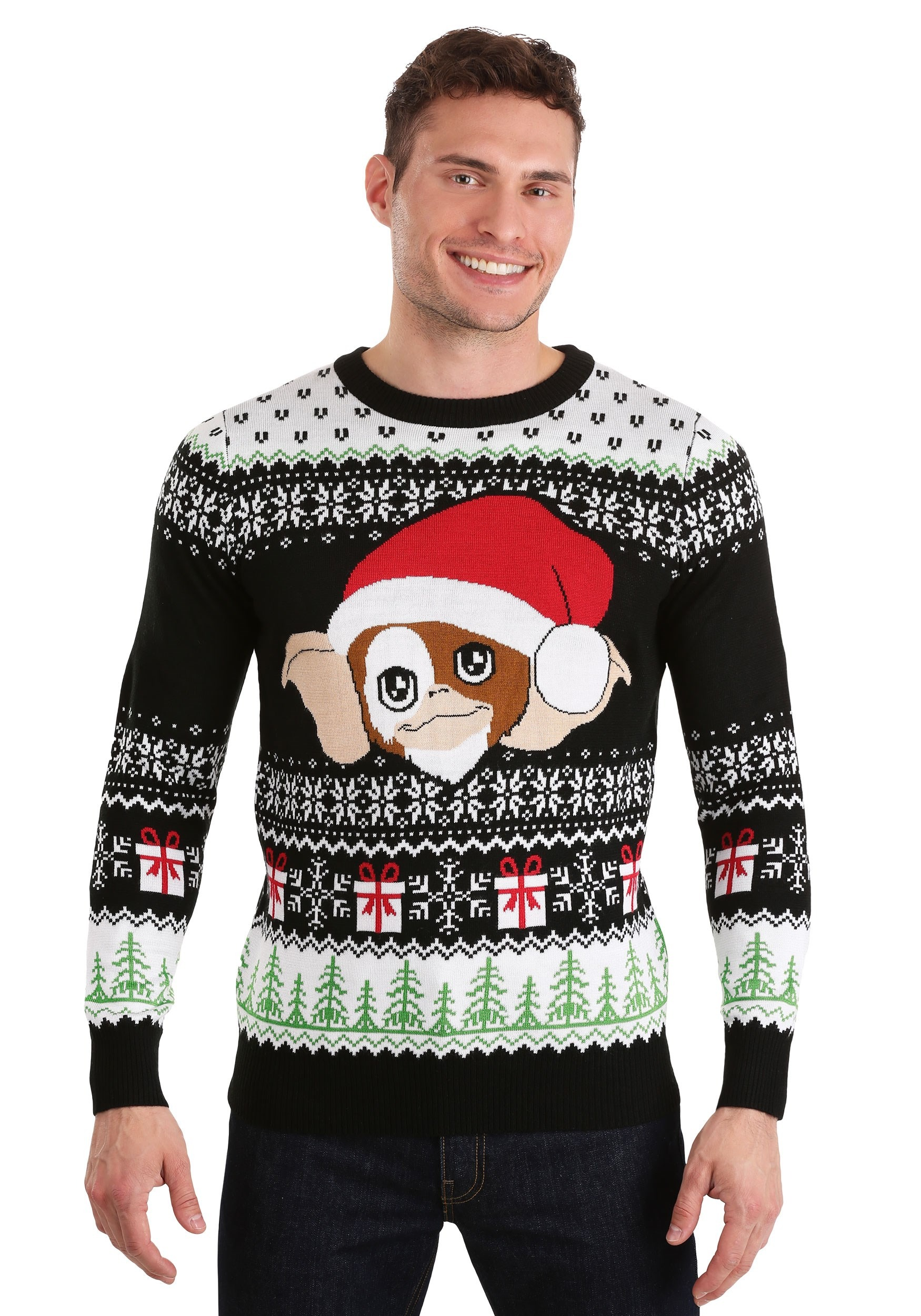 Gremlins Gizmo Claus Ugly Christmas Sweater