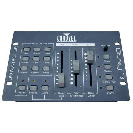 Dmx Colour (Chauvet DJ OBEY 3 Channel DMX 512 Adjustable Sound Active LED Light Controller )