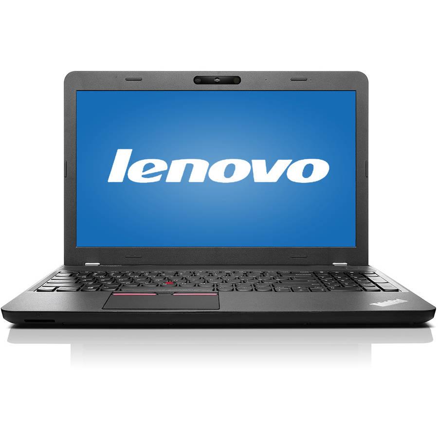 "Lenovo Graphite Black 15.6"" ThinkPad E560 Laptop PC with Intel Core i7-6500U Dual-Core Processor, 8GB Memory, 500GB Hard Drive and Windows 7 Professional"