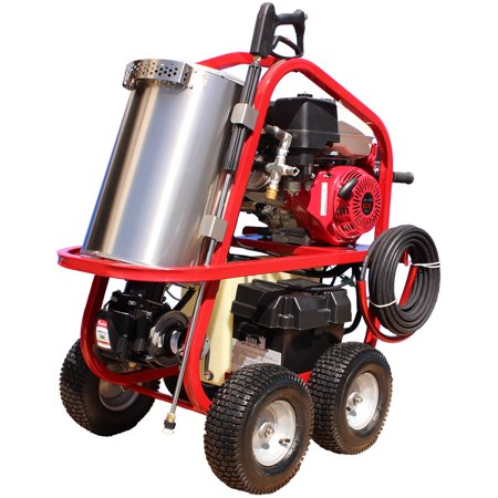 Series 3500 Psi Hot Water (Hot2Go SH Series Professional 4000 PSI (Gas - Hot Water) Pressure Washer w/ Electric Start Honda GX 390 Engine & Steam)