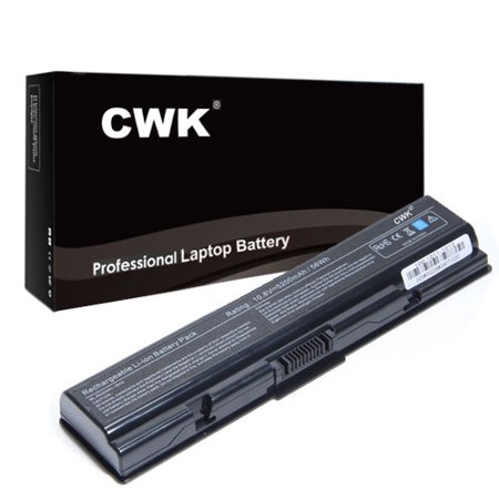 - CWK Long Life Replacement Laptop Notebook Battery for Toshiba Satellite A210-MS6 A210-MS7 A300-034 6CE a210-s7422 a205-s5000 pa3534u pa3535u pabas098 A210-ST1616 A215-S4697